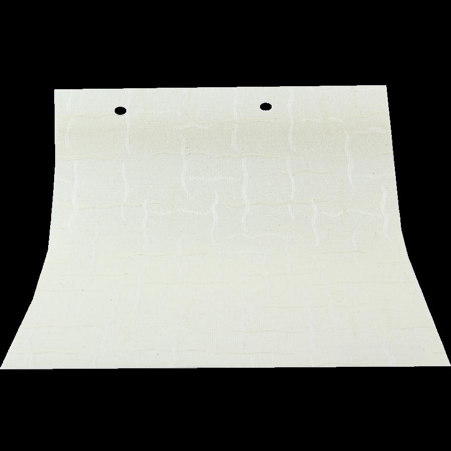 Tel Örgü Desenli Beyaz LACE Serisi Keten Stor Perde LACE4050