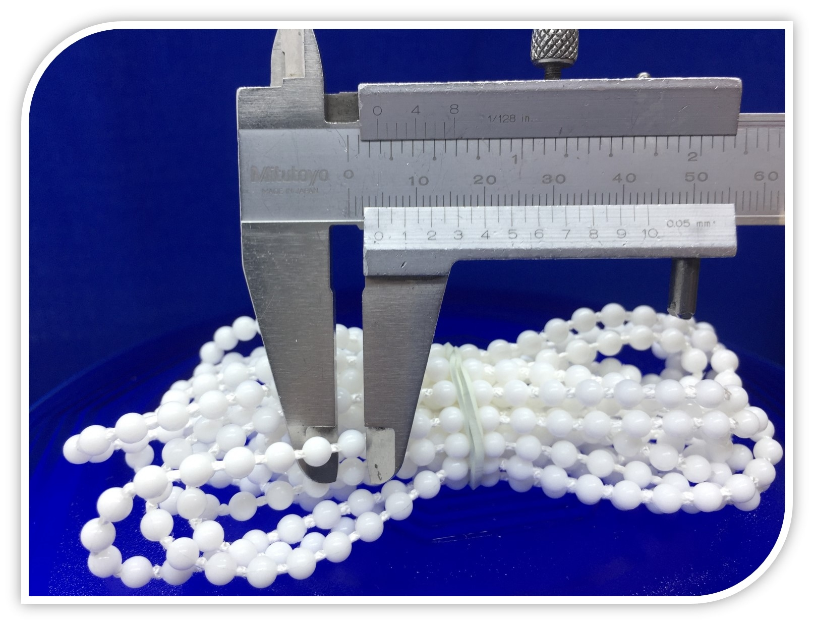 Beyaz Sonsuz Zincir 200 cm