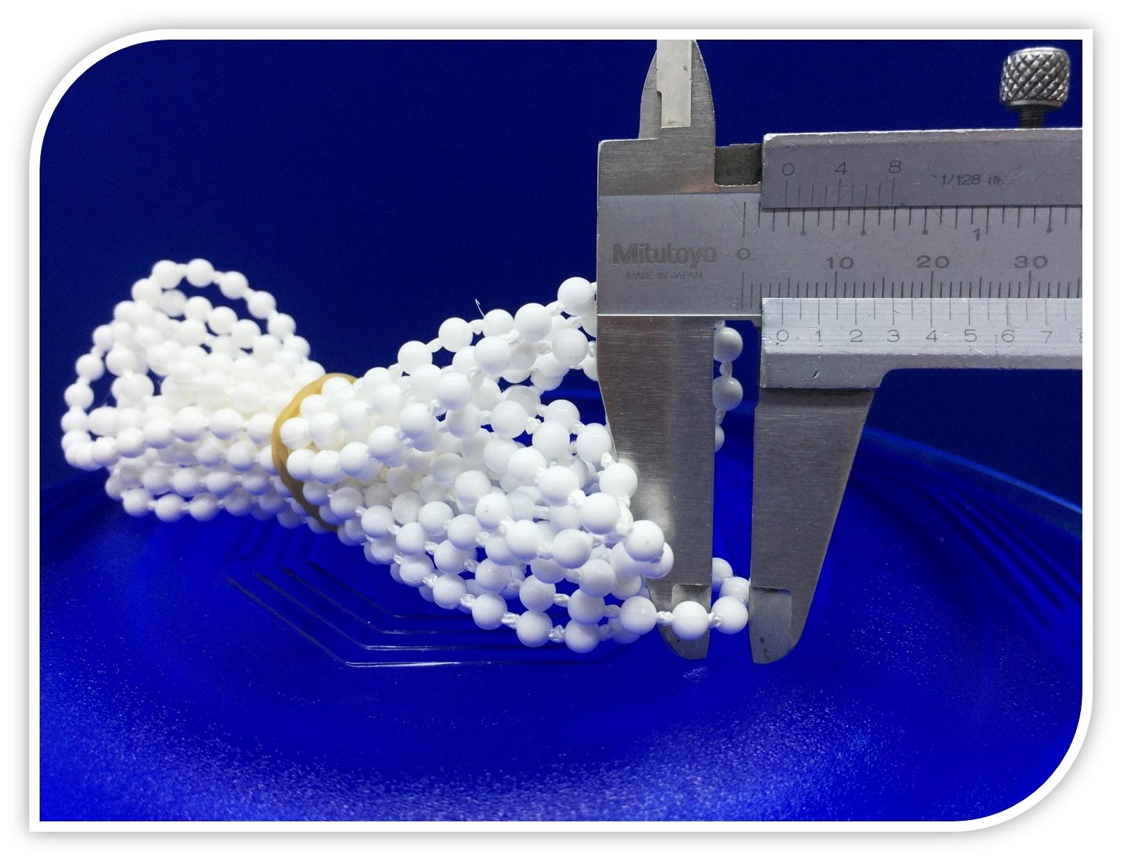 Beyaz Sonsuz Zincir 150 cm