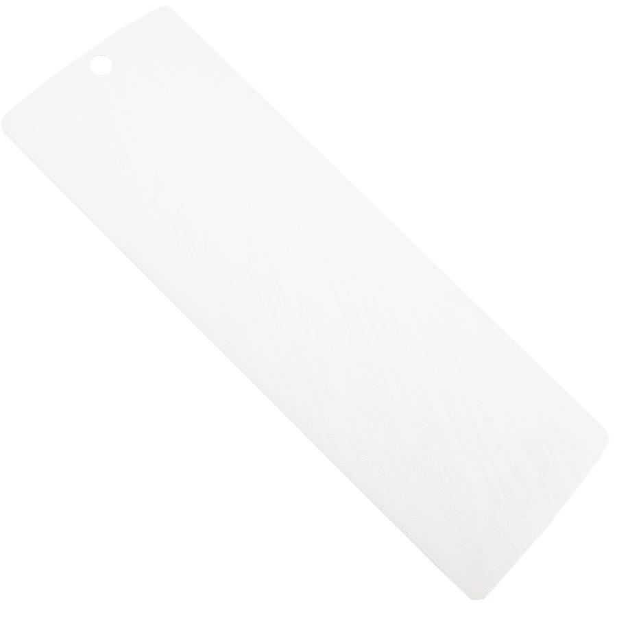 beyaz kavisli PVC Dikey Perde PVC960