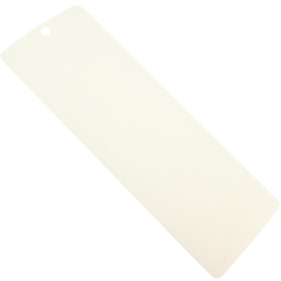kırık beyaz kavisli PVC Dikey Perde PVC970
